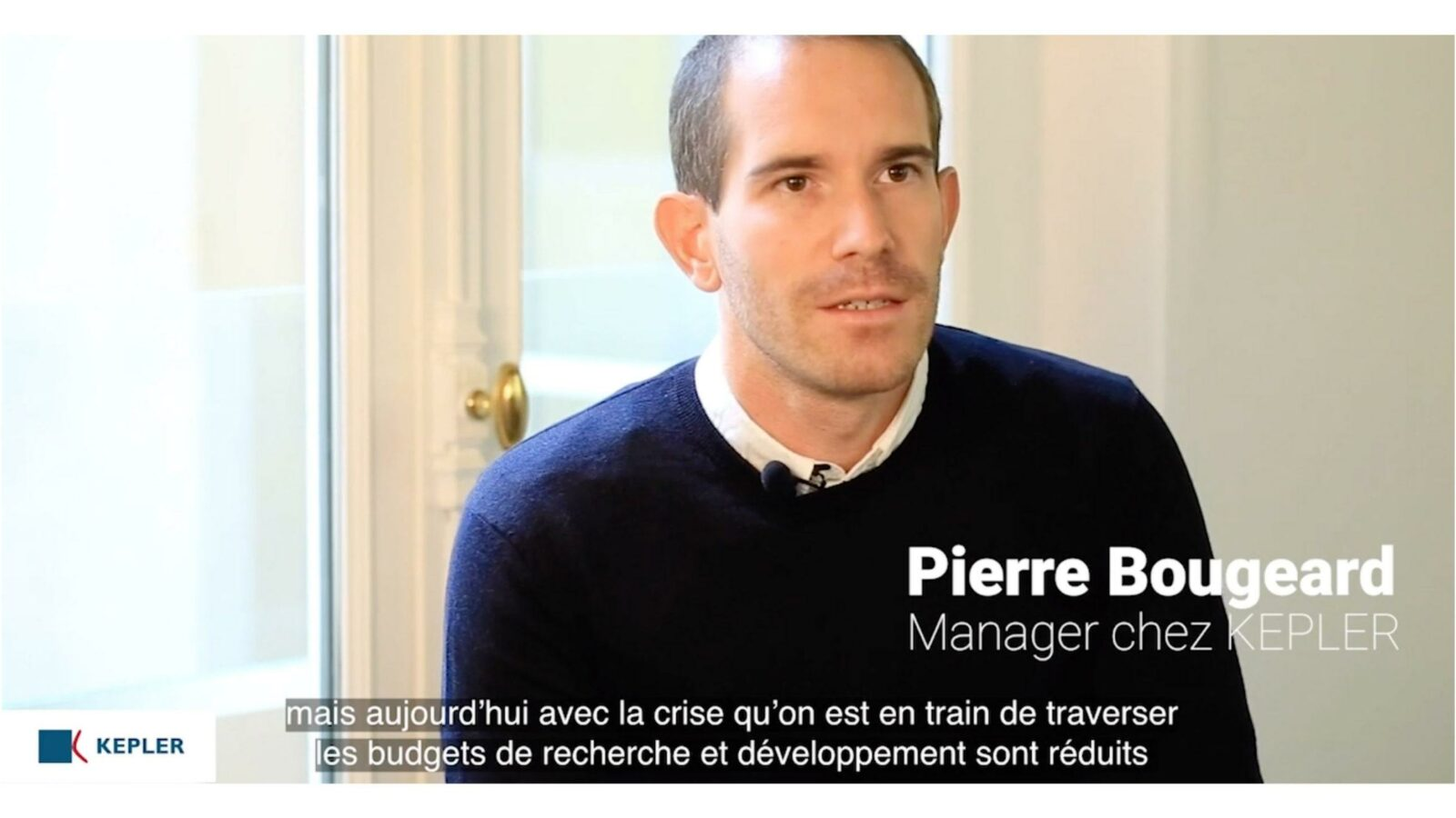 Interview Pierre Bougeard - Manager KEPLER